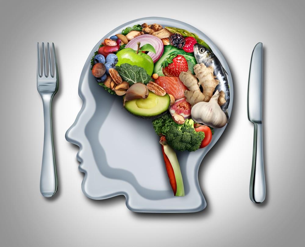 food shaped into human brain